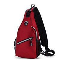 Wholesale 2016 new men outdoor sports Crossbody chest pack backpack shoulder bag for Korean hot one generation