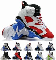 athletic trainer training - 2016 New Cheap Retro VI Mens Basketball Shoes High Quality Training shoe Men Athletics Black White Olympic Oreo Trainers