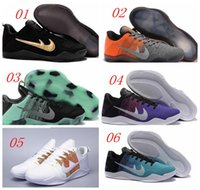 Wholesale With box HOT Kobe Basketball Shoes Sneakers Mens Bryant Kobes XI Elite Sports KB s EP Trainer Sports Shoes Size