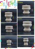 Wholesale Wooden cabinet foot tea table legs supporting legs solid wood bed foot furniture foot The tortoise short foot