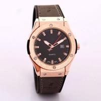 alloy hubs - Reloj Hombre Fashion Chronograph Sport Mens HUB Watches Top Brand Luxury Military Quartz Watch Clock Relogio Masculino