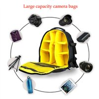 Wholesale Large Capacity Universal Camera Bag Backpacks DSLR SLR Accessories Storage Travel Bag with Waterproof Cover for Canon EOS Nikon Device