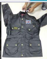 Precio de Chaquetas de los hombres de cera-La chaqueta BRITÁNICA libre de la unión de la BARRA BRITÁNICA del barbaur UK del hombre del envío 2018 encerró la chaqueta del algodón