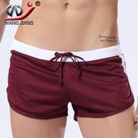 Wholesale WJ DK shorts jeans muay thai short men sunga beach sport shorts brand running shorts bermudas mens surf
