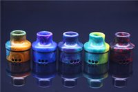 Wholesale 2016 wide bore resin drip tip fit for Custom Goon RDA atomizer Resin Drip Tips Fit For Goon RDA factory wholeprice