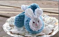 baby aqua shoes - 100 handmade infant Loafers Aqua Blue Baby Bunny Ears Crochet Baby Booties spring baby walking shoes cartoon toddler shoes pairs