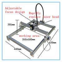 Wholesale 500mw Laser Engraving Machine Diy Laser Cutting Machine Engraving Area cm Software Adjust Laser Power Mini laser engraver