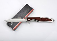 ENLAN BEE bee knives - ENLAN BEE EW009 Tactical Folding Knife Cr13mov HRC Camping Hunting Survival Pocket Knife Wood Handle Military Utility EDC Tools