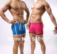 active swimwear - 4 Color Sports Underwear Mens Swimwear Wrestling Trunks Summer Mens Swim Trunk men Swim shorts