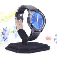 Wholesale 2015 hot sell C Black Velvet Watch Display Stand Shelf Bracelet Holder Watch Holder Jewelry Display Stand