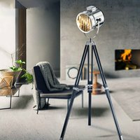 Wholesale Modern Spotlight Marine Signal Tripod Floor Lamp for living room Abajur Photography Light Projector Standing Lamps searchlight