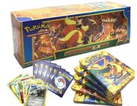 Wholesale Poke Game Trading Card Games Newest English Edition XY Anime Monsters Cards board games Card Toys for Children Kids