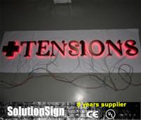 Wholesale Professional design D stainless steel return backlit led letter sign