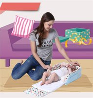 Wholesale Portable Baby Bed Infant Bed Tent Baby Crib travel bed baby Folding Baby Crib Cotton Sleepping Basket