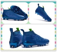 ace style - New New Style Training Sneakers Men s ACE PureControl FG Blue boots Shoes Outdoor Sports Football Boots Sneakers Running Shoes