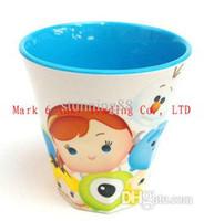 Livraison gratuite TSUM TSUM film d'animation Brosse dents TSUM bouteille d'eau enfants enfants de bande dessinée expresse tasse de café cadeau bouilloire