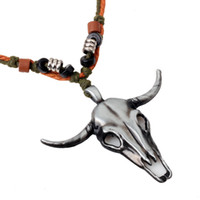 antelope leather - Accessories Amorous feelings of Nepal national wind necklace antelope head insulation material