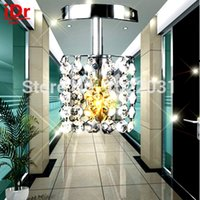 best design chandelier - luxury Modern lamps design head E14 crystal lighting best selling chandelier high quality Corridor lights Dia100xH220mm