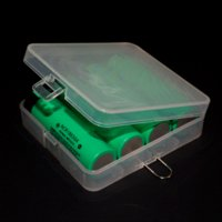 Wholesale 10 Pieces Soshine Battery Case Box Battery HolderStorage Case Box with Hook Holder