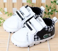 animal crossing shoes - Fashion Baby boys Shoes White Color Crocodile Popular Infant Toddler Shoes Age Month First Walker Shoes