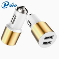 best fast cars - High Quality Dual USB Quick Charger And Metal Emergency Hammer in USB Fast Car Charger Best Quality Car Charger For Mobilephones