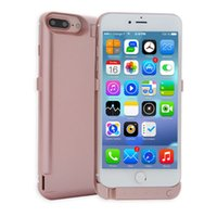 Wholesale Cell Phone Charger Case Wholesale - Newest Power Bank For iPhone 7 IPhone 7 plus 10400mAh Portable Charger Outdoor External Battery Case Cell Phone Power Banks Free Shipping