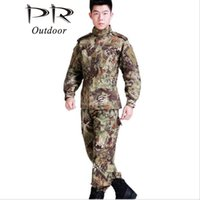 Wholesale US Military camouflage hunting army military uniform army Tactical camouflage hunting jacket and pants hunting clothes