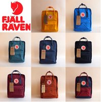 animal arctic fox - Swedish Fjallraven arctic fox backpack kanken classic men s and women s pack a bag