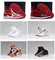 Cheap Chicago retro China jordan 1 men basketball shoes online cheapest sale originals best quality real sneakers US size 8-13 free shipping
