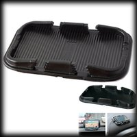 Wholesale by dhl or ems The double card mat hot sale Car Super Sticky Pad Anti slip Mat for Phone Black