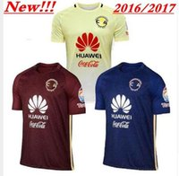 american jerseys buy - Mixed DHL buy Mexico Club American Red Yellow Blue Soccer Jerseys Thai Quality Men s Soccer Shirts Men Soccer Sportswear Cheap Cus