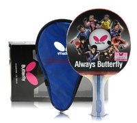Wholesale 2016 Butterfly TBC402 Table Tennis Olympic Games Ping Pong Racket Paddle Bat Blade FL only one
