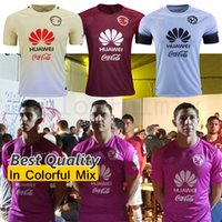 best club soccer jerseys - 1617 club america soccer jerseys red yellow blue grey shirts best quality america jerseys camiseta de futbol soccer uniforms