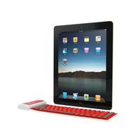 Bluetooth inalámbrico flexible plegable teclado USB cable USB universal para tableta y teléfonos inteligentes WP002 con 4 colores