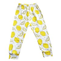 Wholesale PrettyBaby kids pants hot sale lemon prined haroun pants cotton kids trousers children clothes