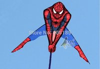 Wholesale Outdoor Fun Sports Kites Accessories Outdoor Fun Sports Spideman Kite With Flying Tools Factory Outlet