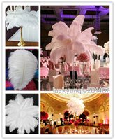Wholesale Ostrich Feather inch cm Wedding Decorations Centerpiece Ostrich Feather Ostrich Plume Wedding Party Decoration Centerpiece TNM