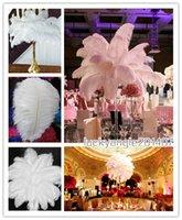 Wholesale Ostrich Feather inch cm Wedding Decorations Centerpiece Ostrich Feather Ostrich Plume Wedding Party Decoration Centerpiece TNM
