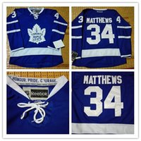 hockey jersey - NHL leafs Draft Matthews Lupul Gilmour van RIEMSDYK Clark White Blue winter classic Hockey Jerseys Stitched Mix Order