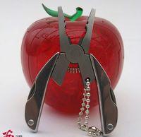 Wholesale The mini multifunctional tool clamp clamp gift key ring lifesaving equipment small tortoise pliers