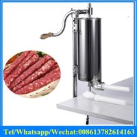 best sausage stuffer - Best selling cheap commercial chicken Multifunction sausage stuffer stainless steel sausage making machine