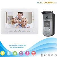 Wholesale DHL Shipping XSL V70H ID V1 XSL Manufacturer Inch security system RFID ID Card Unlocking video door phone intercom