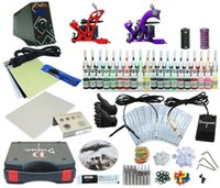 Cheap Complete Tattoo Kit 2 Machine Set Equipment Power Supply TKA-6-2