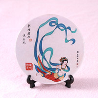 Wholesale Gift Dunhuang ceramic coaster murals Flying day mat non slip water coaster LOGO custom souvenirs
