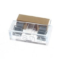 Wholesale Welding Linked Transparent Covered Fuse Holder For x mm Glass Tube Fuse