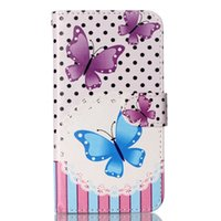 bam cases - Cartoon Flower Wallet Leather Case BAM ID Card Money TPU Stand Pouch OWL Butterfly Dandelion For LG K10 M2 F670 K7 M1 Samsung Galaxy J3 Skin
