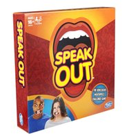 Wholesale Hot Selling Speak Out Game KTV Party Game Cards for Party Christmas Gift Newest Best Selling Toy A106