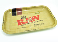 Wholesale RAW iron plate storage tray Cigarette essential accessories RAW rolling trays cm cm for RAW Rolling Paper