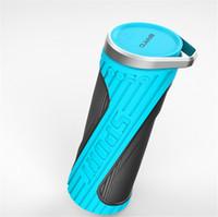bank handsfree - New Design Cycling H5 HiFi Stereo Outdoor Bluetooth Speaker With Microphone Handsfree Bass Sport Waterproof Speaker Power Bank