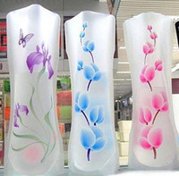 Wholesale New plastic PVC Foldable Unbreakable Flower Vase Creative household items Novelty items Home office decorative product
